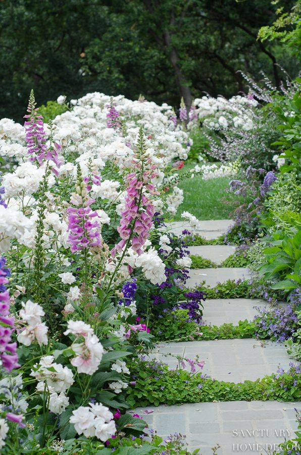 How to Create a Romantic English Garden - Sanctuary Home Decor