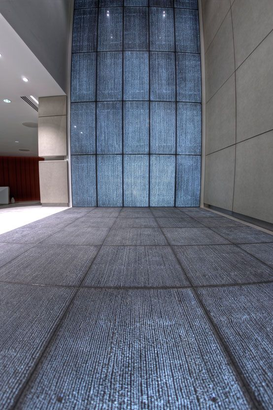 Whether fixed to walls or floors, or even as a decorative partition - paredes de cemento