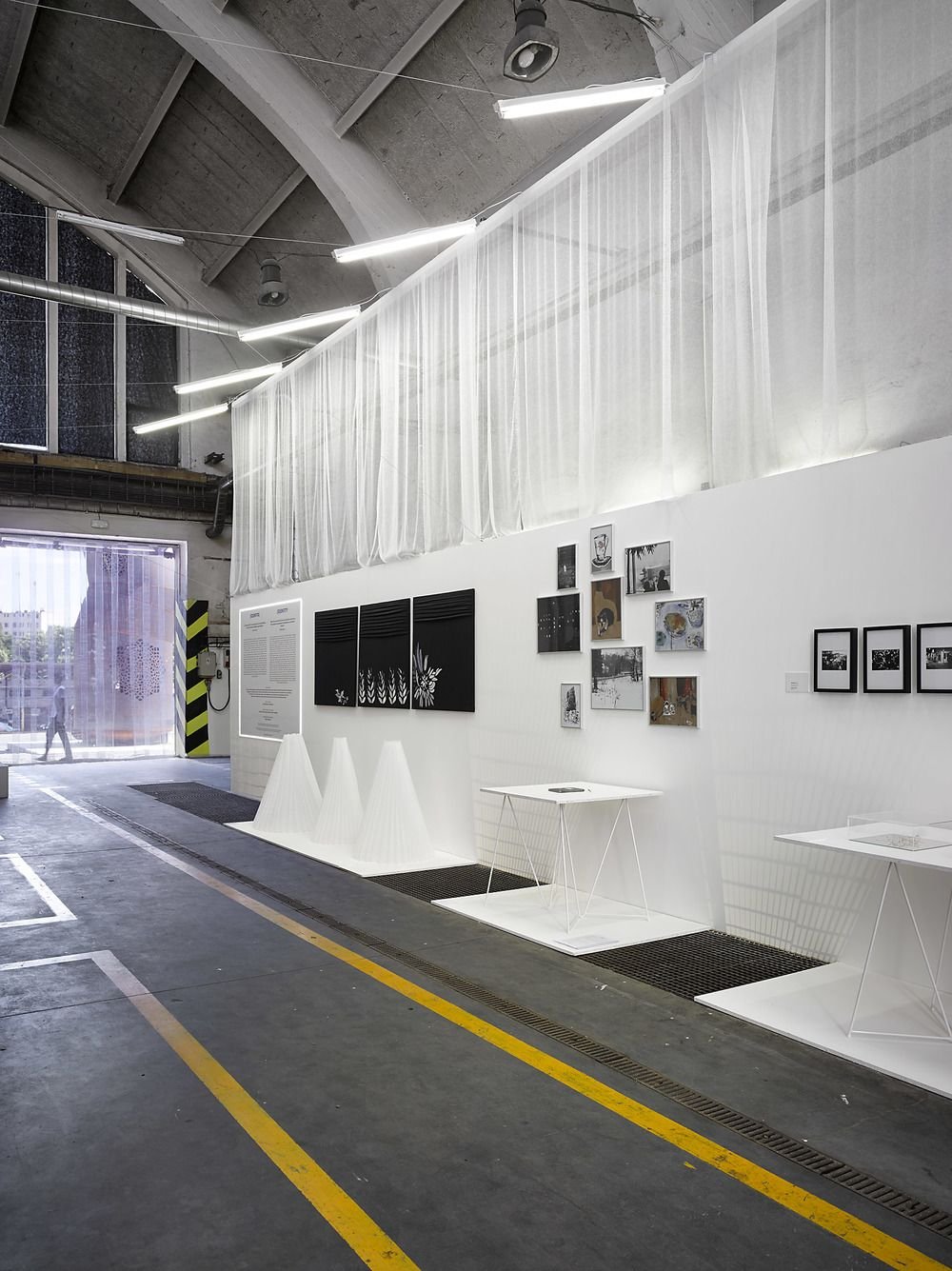 exhibition design by Formafatal studio