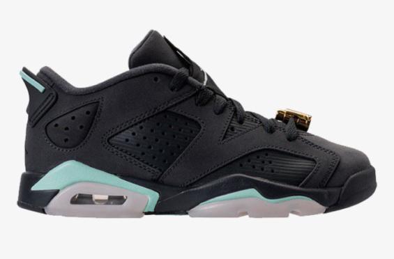 Authentic Air Jordan 6 VI Low Mint Foam Basketball Shoe