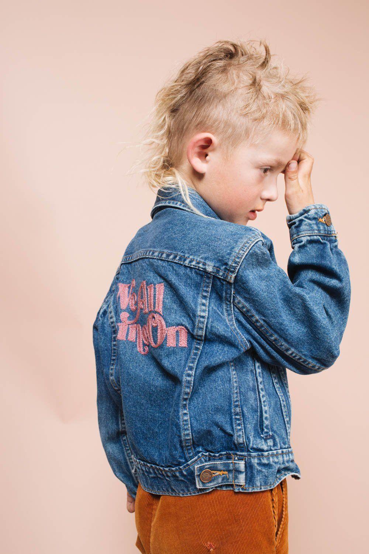 We All Shine On Kids Jean Jackets Kids Jeans Jacket Jackets Jeans Kids [ 1500 x 1000 Pixel ]
