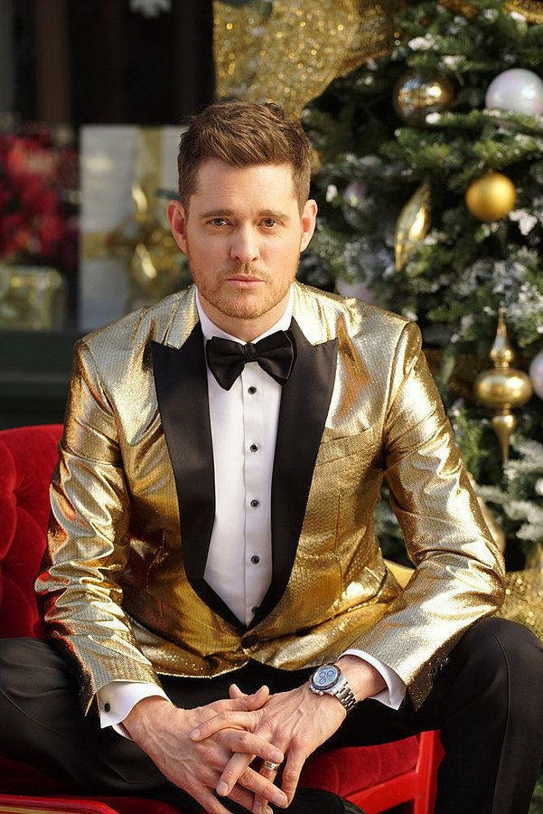 Kylie Jenner And Michael Buble Take The Most Bizarre Christmas Photo In History Michael Buble Christmas Michael Buble Michael Buble Tour