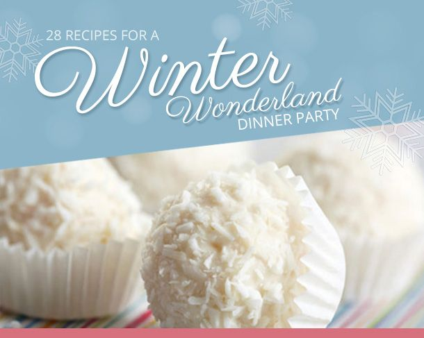 Winter wonderland dinner party recipes articles search results 28 recipes for a winter wonderland dinner party via food network canada forumfinder Images