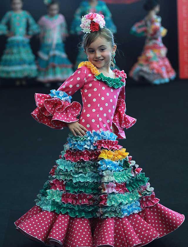 31db71542 Simof 2017: el desfile infantil, en fotos | FLAMENCO FASHION / DRESS ...