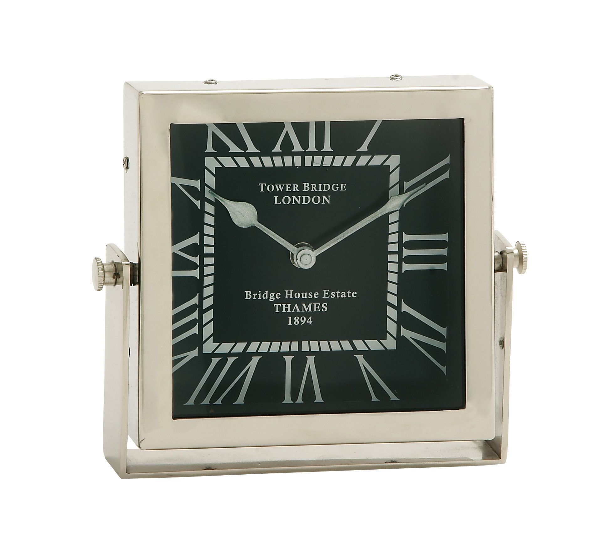Elegant And Classy Steel Table Clock