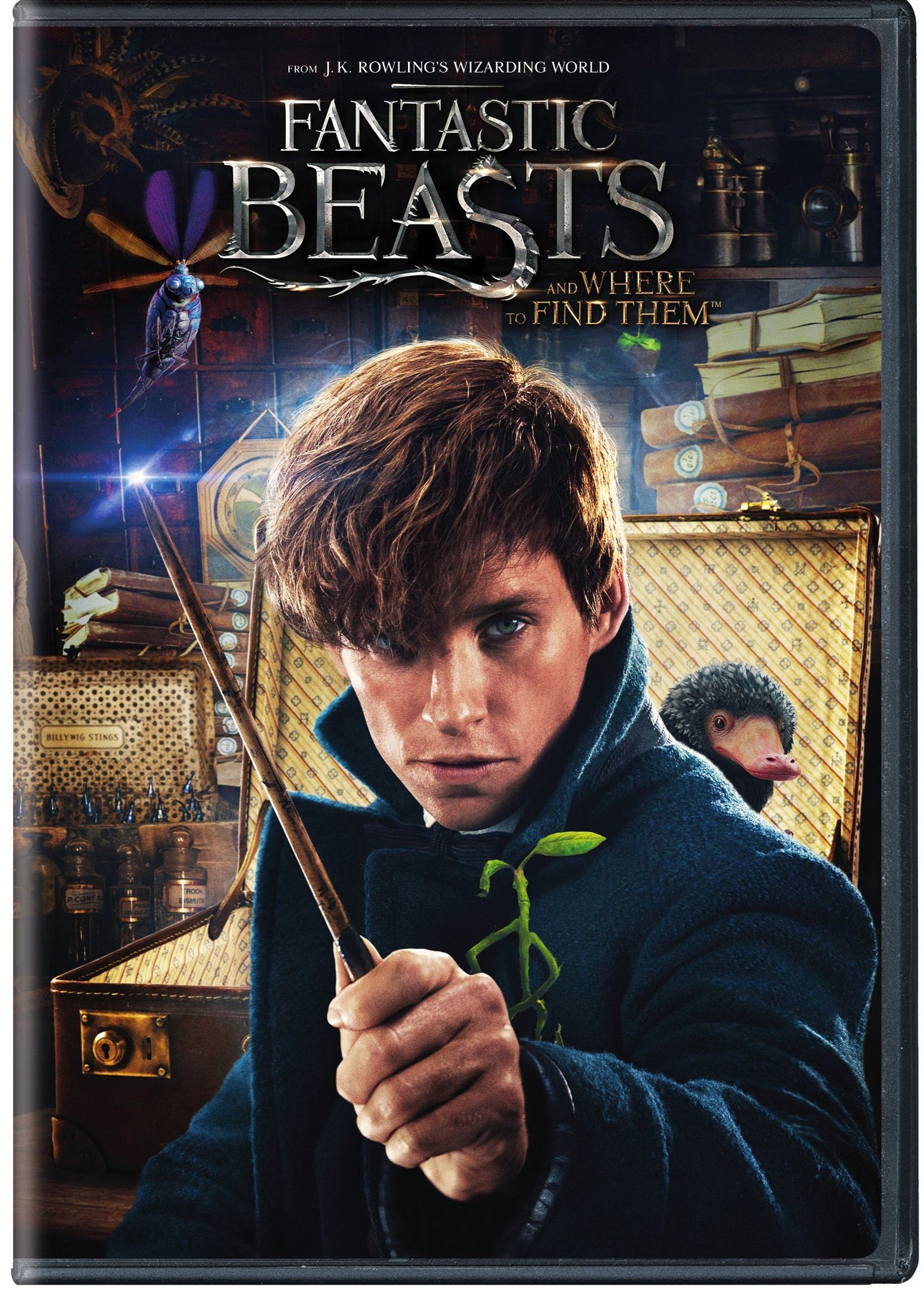 Fantastic Beasts And Where To Find Them (Walmart Exclusive) (DVD)#Find, # Beasts, #Fantastic | Fantastic beasts and where, Fantastic beasts, Full  movies online free