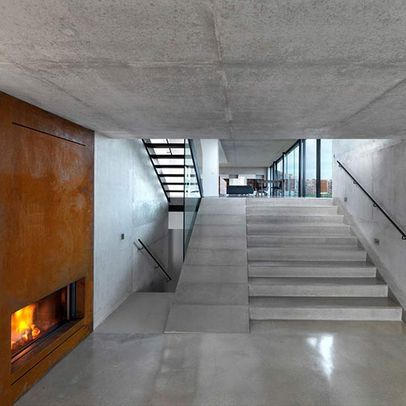 Best Concrete Stair And Ramp Interior Design Give Me 640 x 480