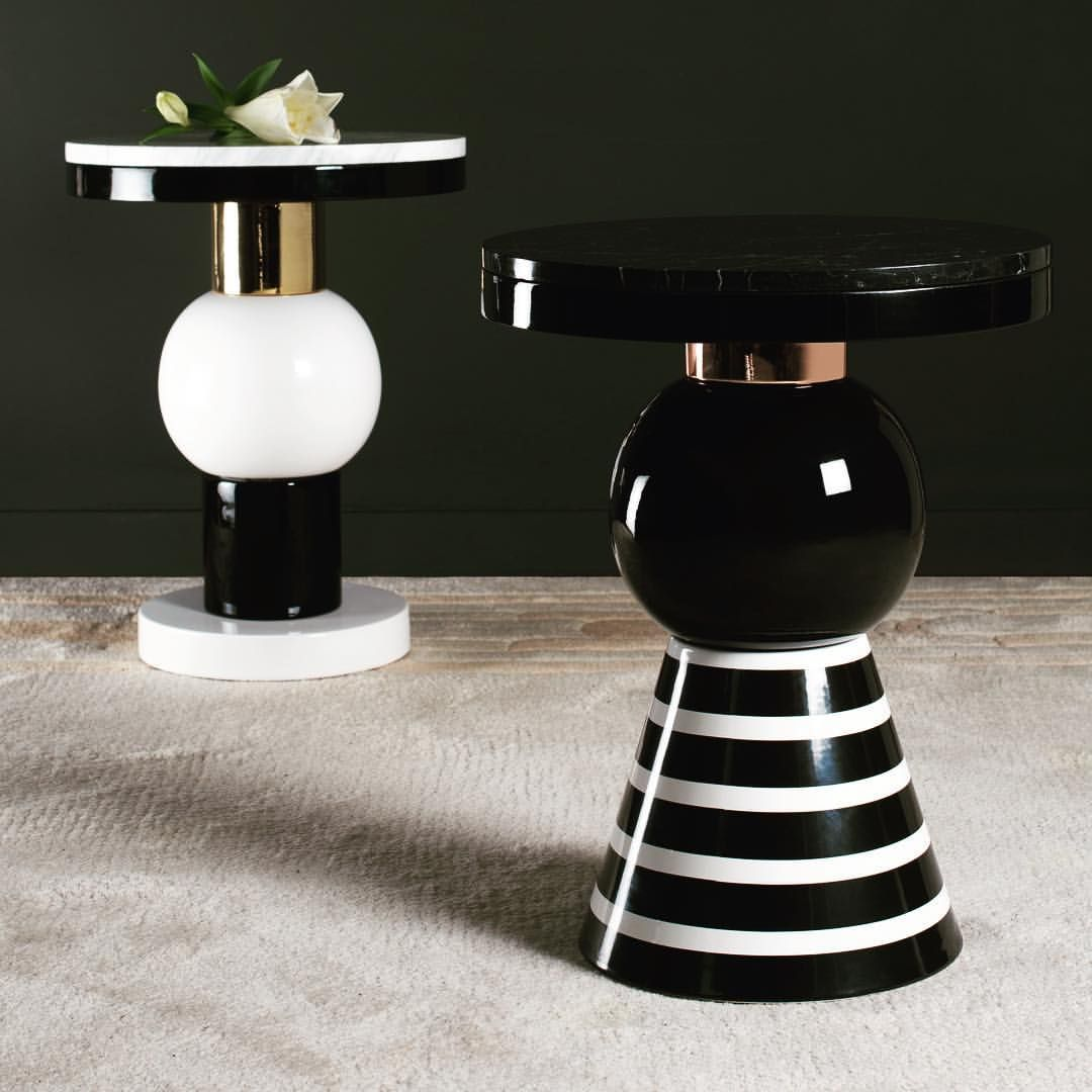 Sidetable Jan De Bouvrie.Aya And Sakari The New Curvaceous Sidetables Of The Casalto