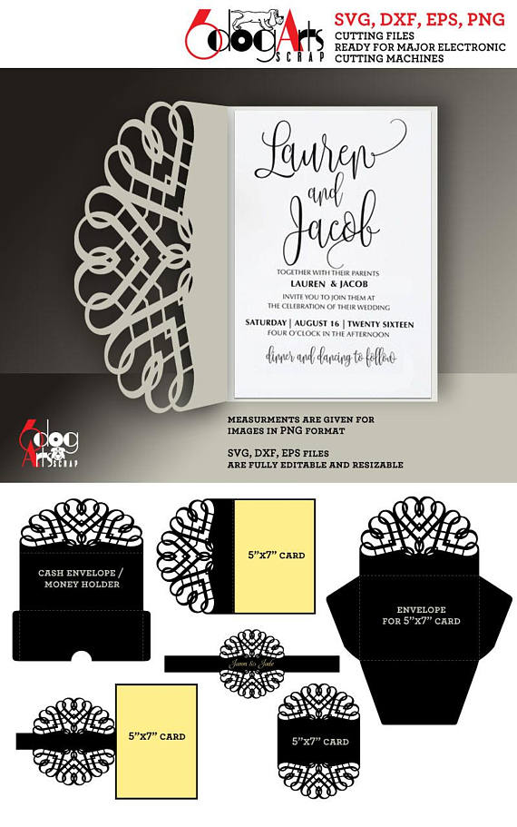 6 scroll lace card envelope templates digital cut svg dxf wedding 6 scroll lace card envelope templates digital cut svg dxf wedding invitation stationery laser cuttable download silhouette cricut jb 906c envelopes stopboris Image collections