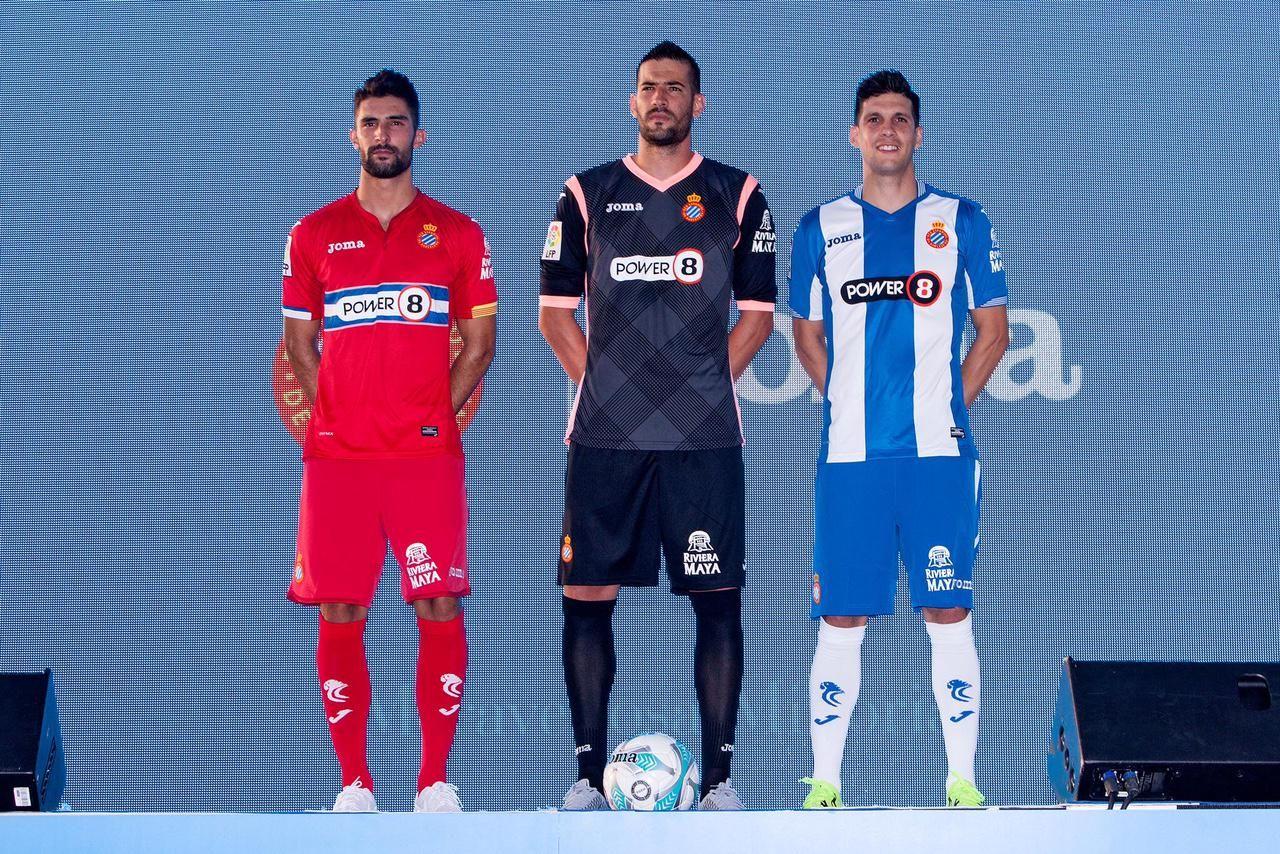 bbafc0191 RCD Espanyol 15-16 Kits Released - Footy Headlines
