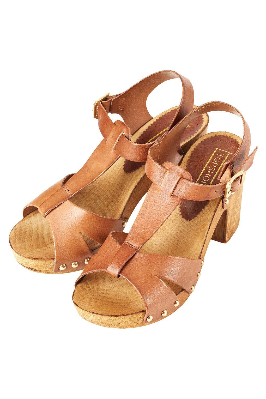 a081a0b543 Nano T-Bar Clog Sandals - Heeled Sandals - Heels - Shoes - Topshop ...