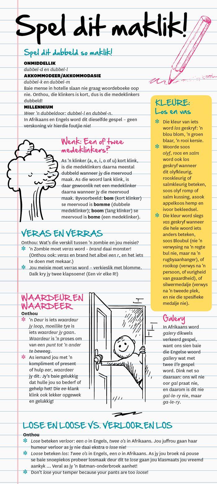 spelditmaklik | Afrikaans | Pinterest | Dinge und Kind