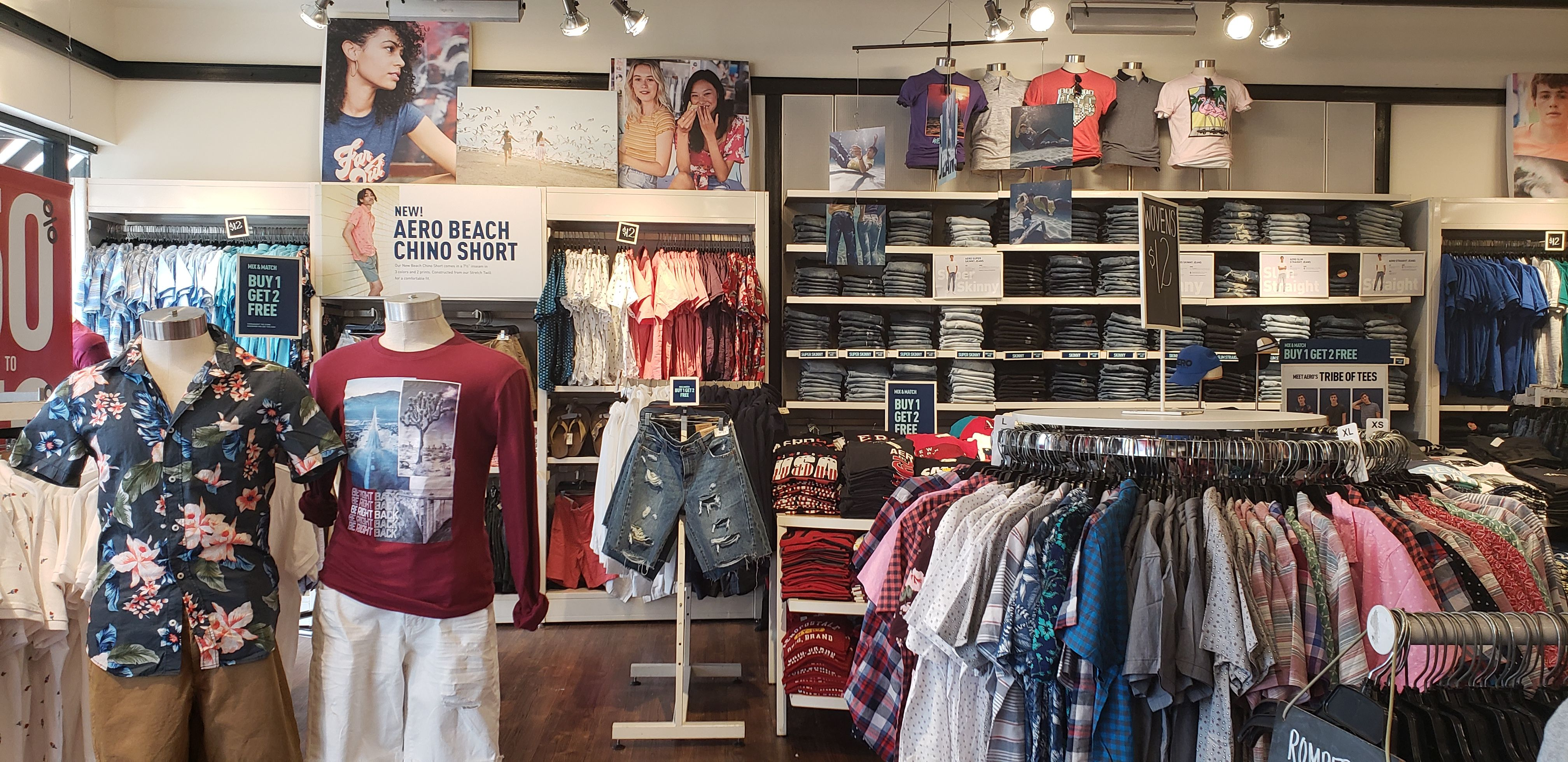 Aeropostale up to 70 off Entire store! Exclusions apply