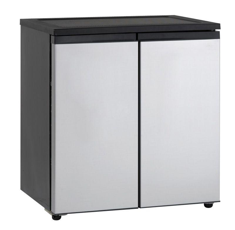 Avanti rms550ps 55 cu ft sidebyside refrigerator