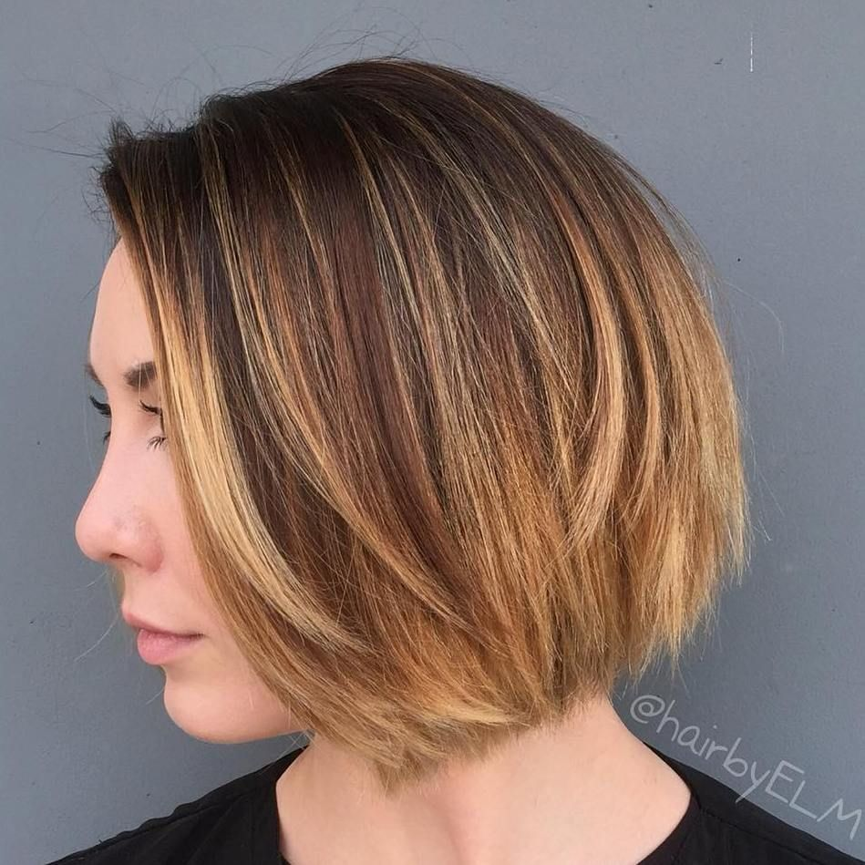 40 On Trend Balayage Short Hair Looks Caramel Ombre Ombre
