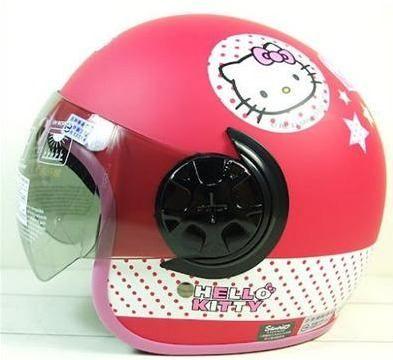 Cascos Moto Moticicleta Bici Hello Kitty Sanrio Original Rgl