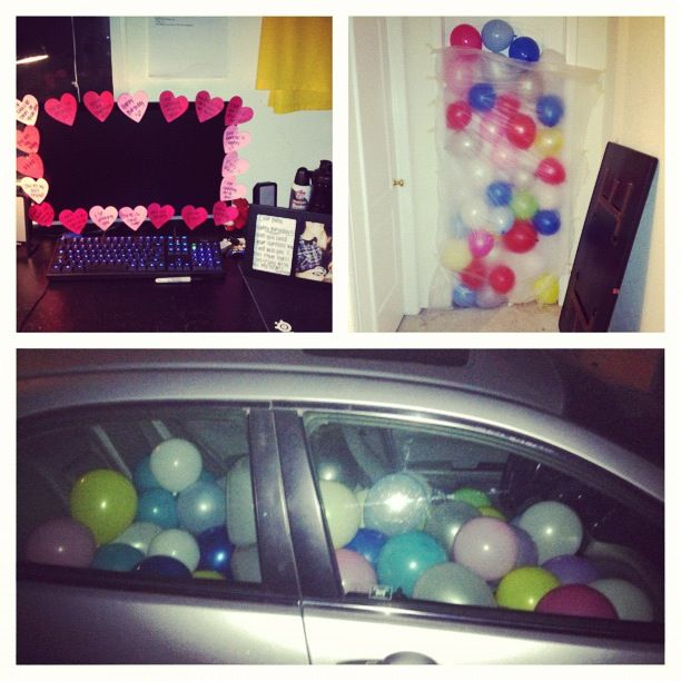 Surprises That I Did For My Boyfriend's Birthday.