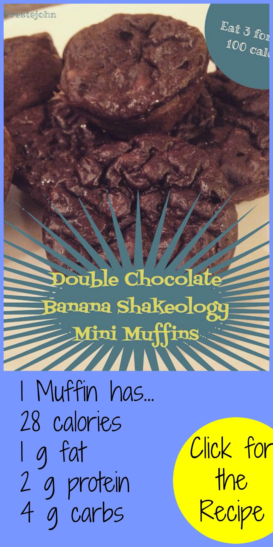 Double Chocolate Shakeology Muffins!