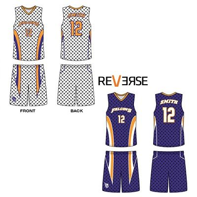 06ede04cf Hard to find Sublimated Reversible Basketball Uniforms. Custom designed  uniforms All Design and Printing Included in the Price.