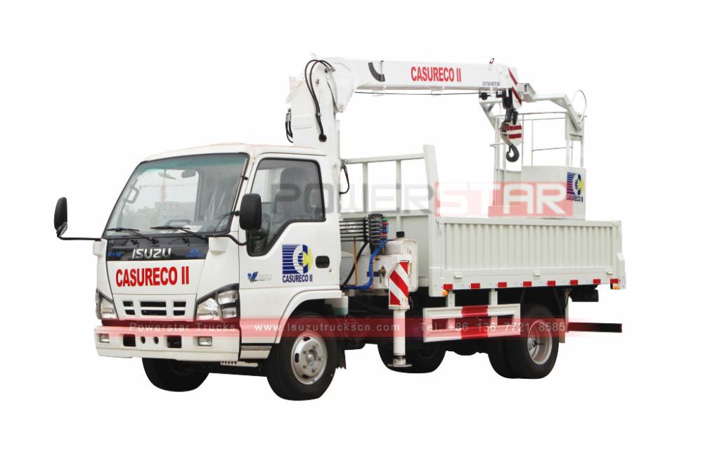 Philippines Isuzu truck loader crane https//www