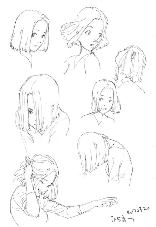 Character Design References Https Www Facebook Com Characterdesignreferences Https W Character Design References Design Reference How To Draw Hair