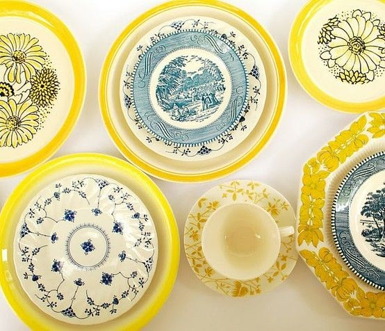 Image result for vintage plates