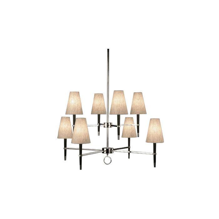 Jonathan adler ventana 8 light shaded chandelier youll love wayfair