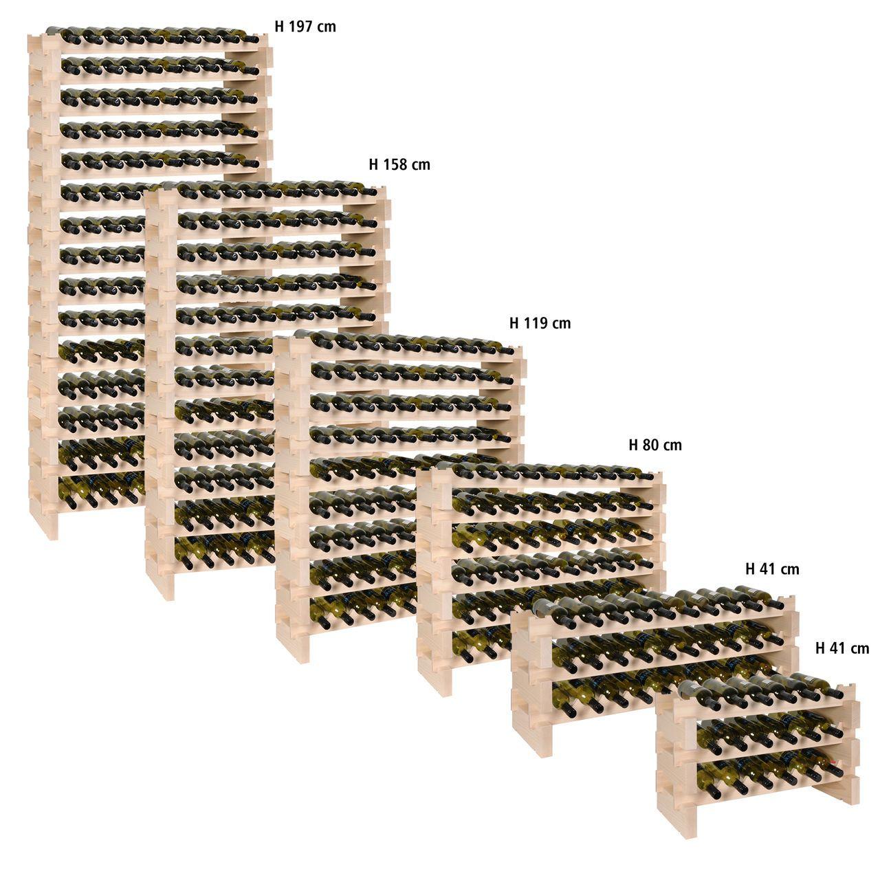 Weinregal Profi weinregal casanova aus buchenholz in unterschiedlichen größen und