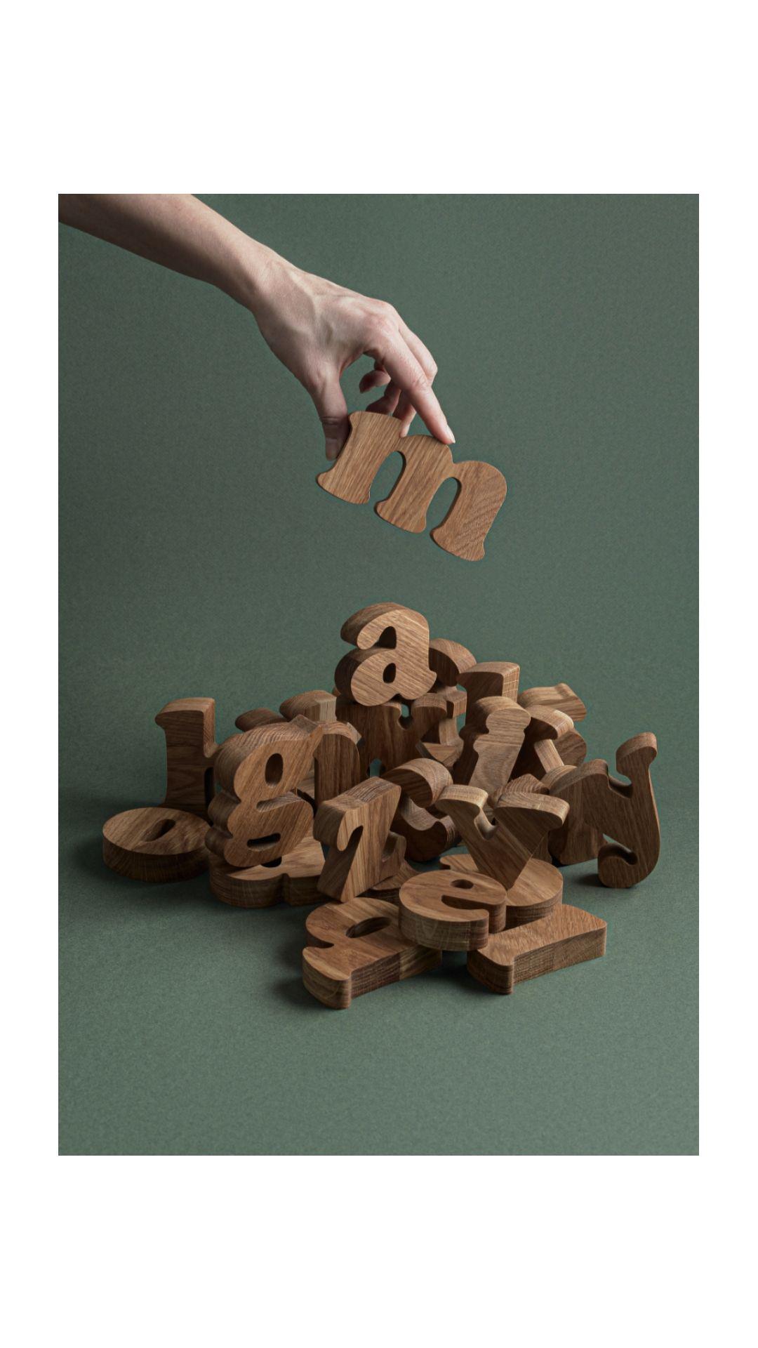Extra Large Uppercase & Lowercase Alphabet Montessori Toys   Etsy ...