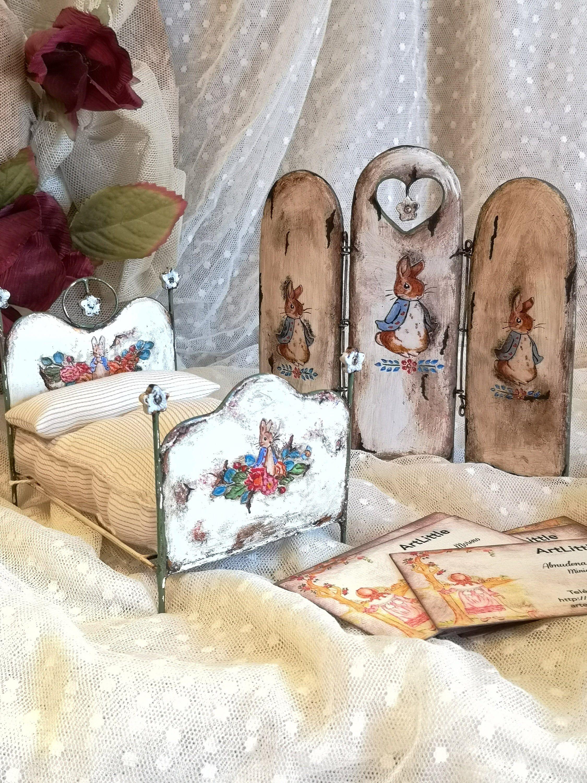 Dollhouse 1:12 scale Miniature  Beatrix Potter Mrs Tittlemouse   Prints
