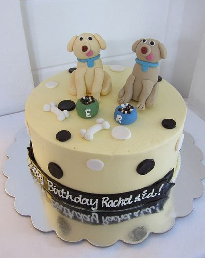 dog bday cake happy birthday from tessie ripley monkeyface shug 3639