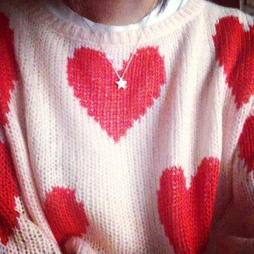 Adorable Heart #sweater *-*   #hearted #wishlist