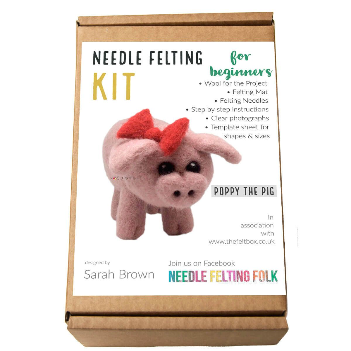 A Beginners Guide To Needle Felting The Homemakery Blog Needle Felting Needle Felting Tools Needle Felting Tutorials
