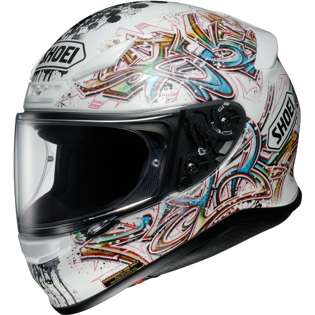 Sale On New Shoei Graffiti Rf 1200 Street Bike Racing Motorcycle