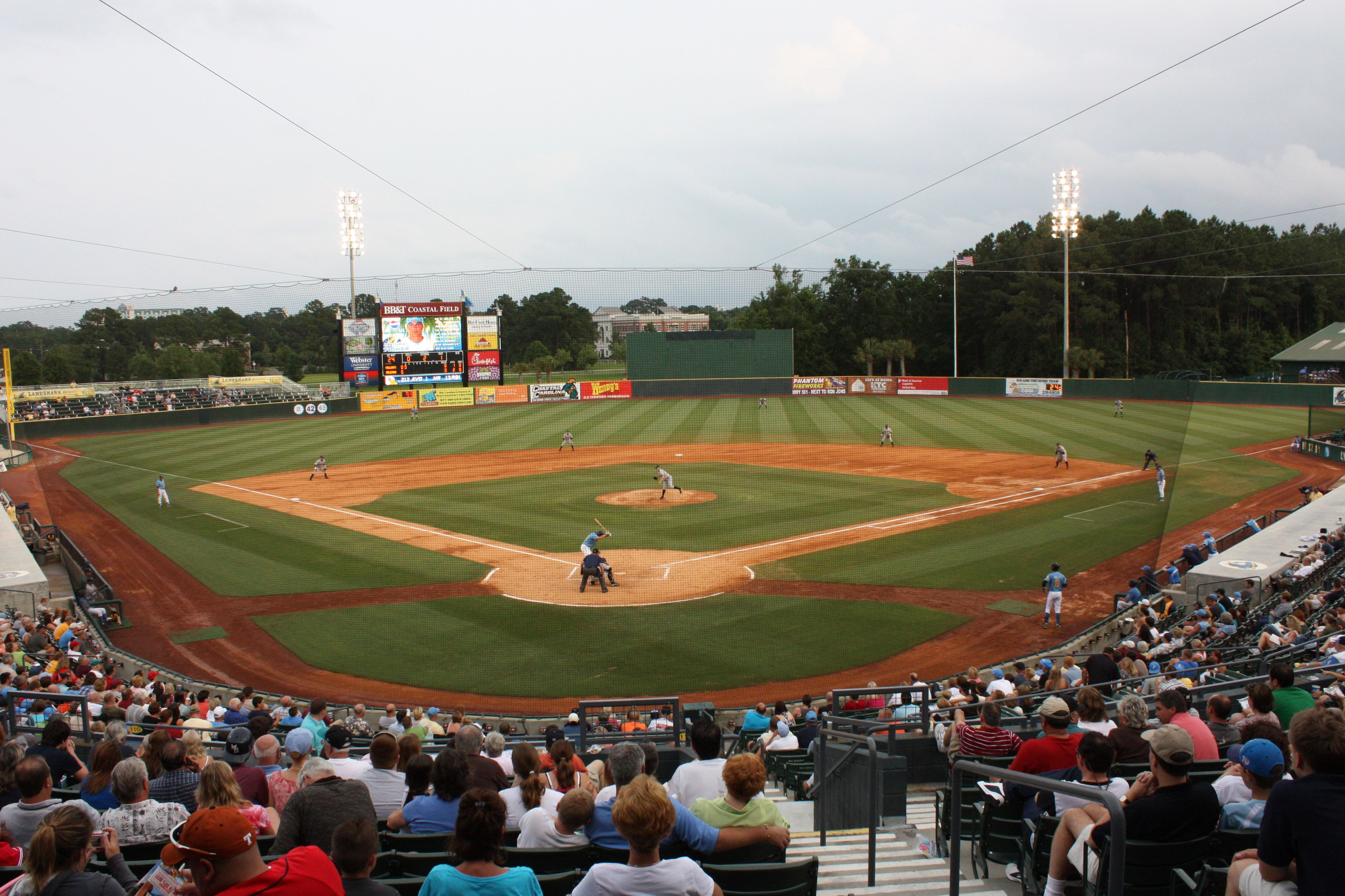 See a baseball game at Pelican Stadium and see the Myrtle