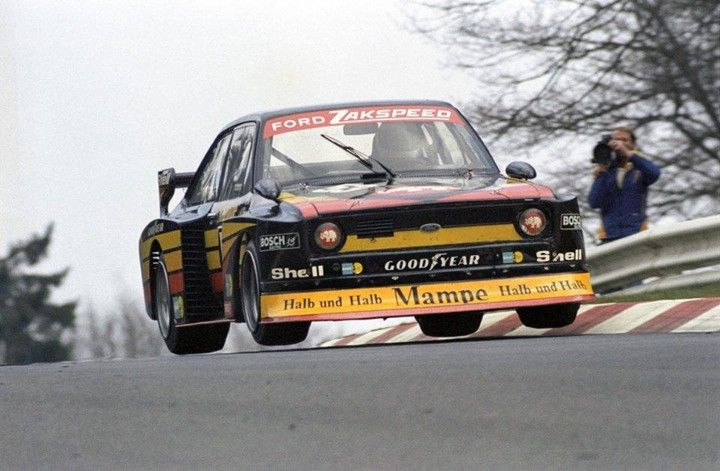 Armin Hahne (Mampe Zakspeed Ford Escort II RS)