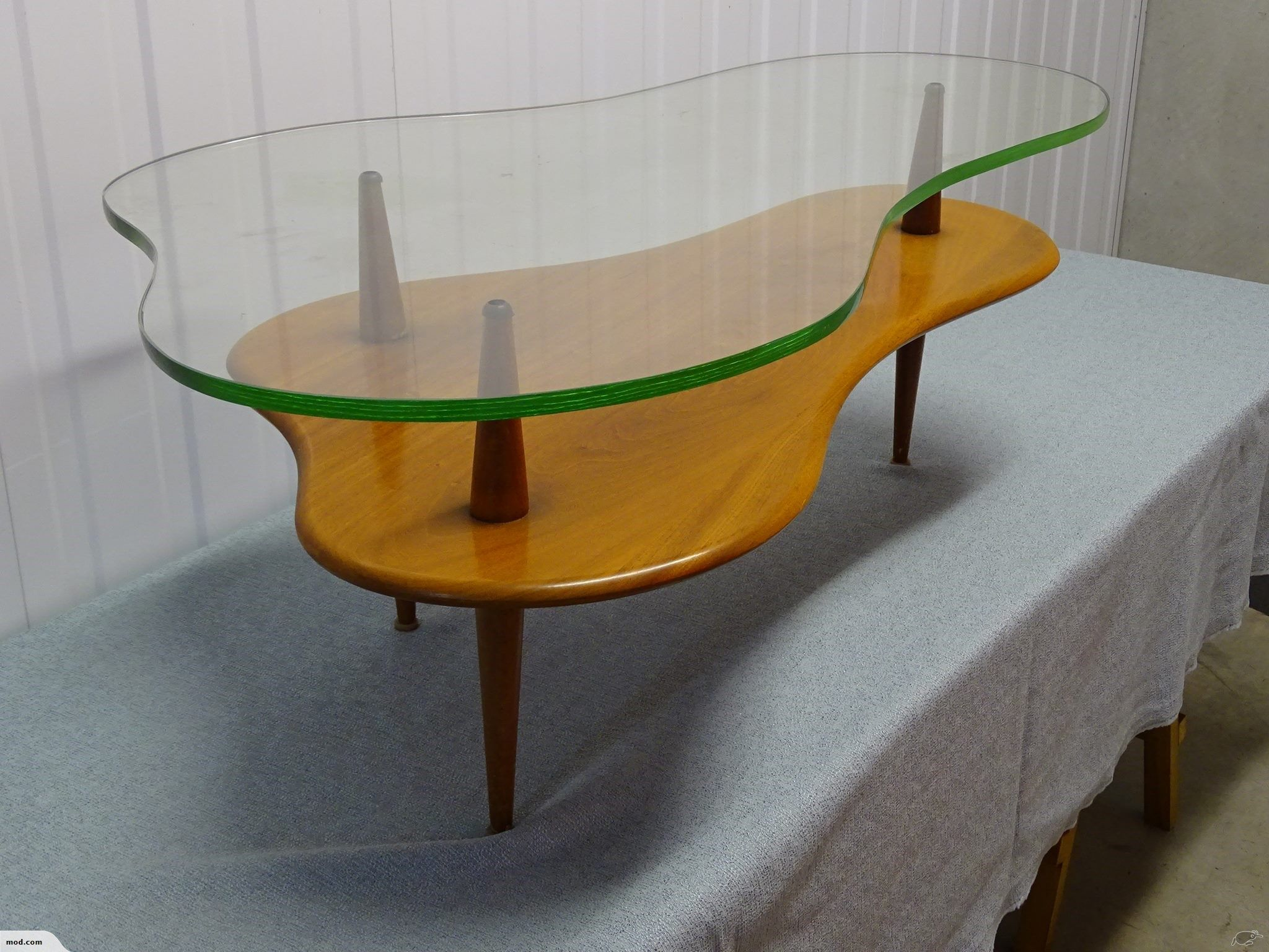 Mid Century Cloud Coffee Table By Jon Jansen Trade Me