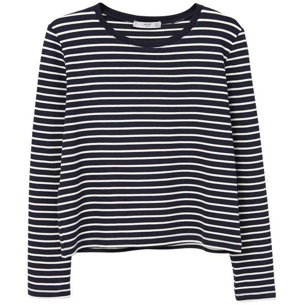 b09181a5f0 Mango Striped T-Shirt