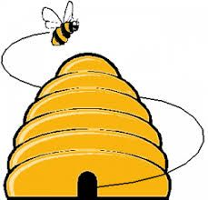 pin by hilde herpelinck on bijen pinterest bees party rh pinterest co uk bumble bee hive clip art bee hive clip art black and white