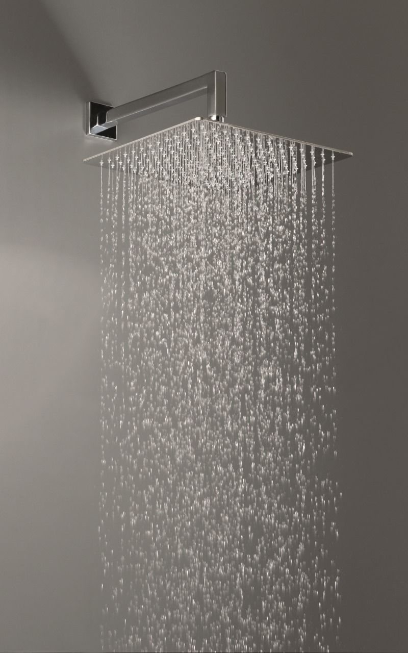 Spring Sq 250 Top Mounted Shower Head With Images Shower Heads Modern Bathroom Design Bathroom Style