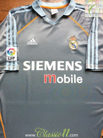 reputable site d9aad c21a5 Relive Real Madrid's 2003/2004 season with this vintage ...