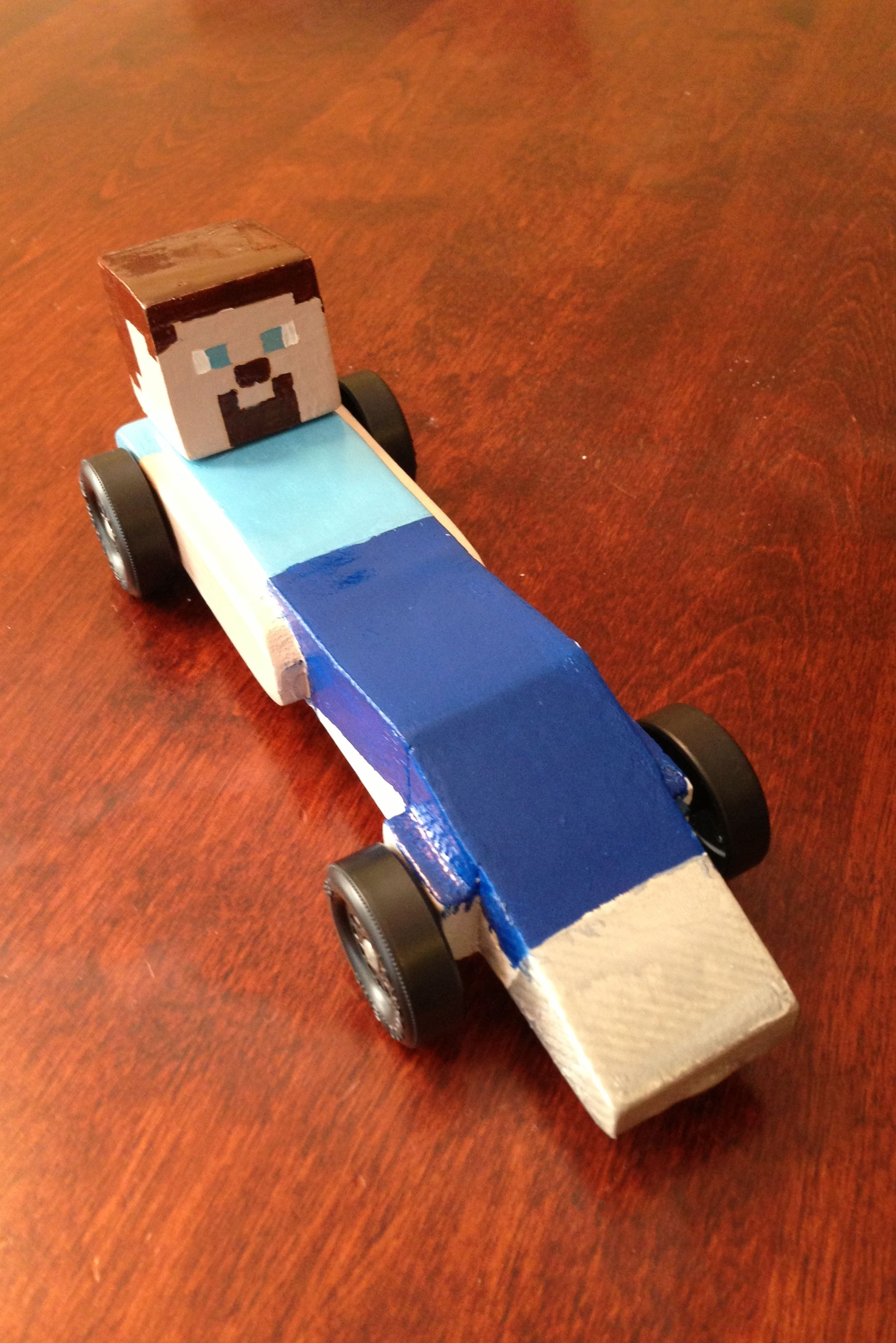 minecraft car scouts pinterest pinewood derby derby cars and