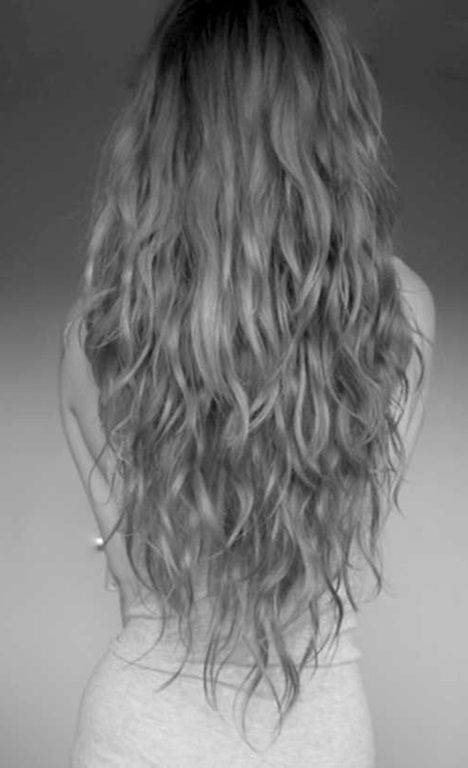Schnitte fur lange lockige haare