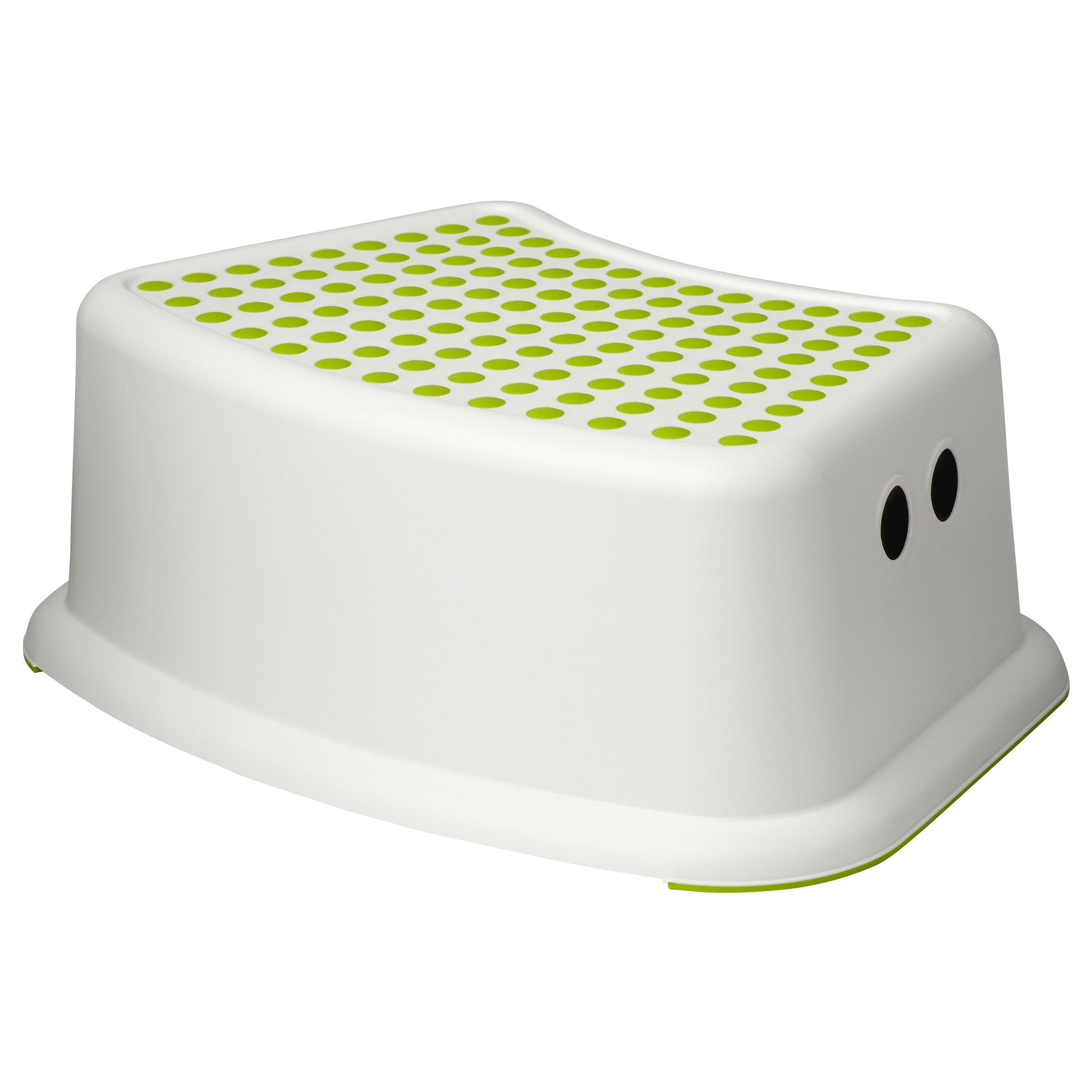F 214 Rsiktig Children S Stool White Green Guest Bathroom