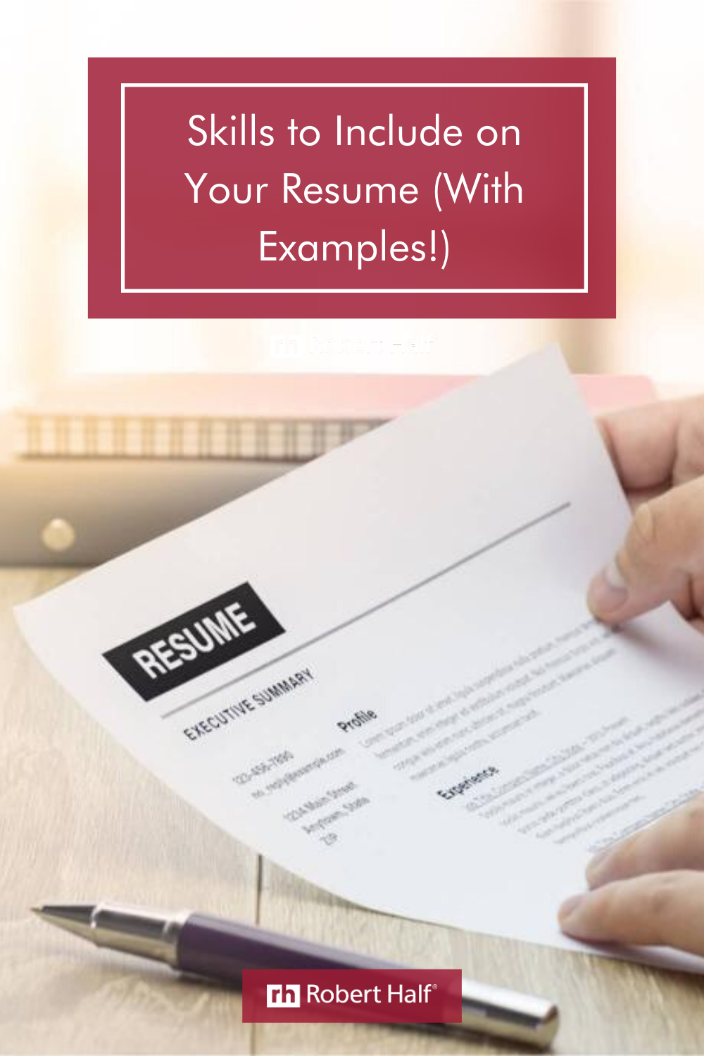 Skills To Include On Your Resume With Examples Resume Skills Resume Skills