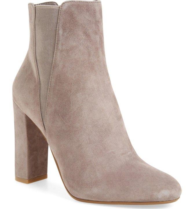 Isaac Mizrahi Black Leather & Suede Kierra Wedge Ankle Boots 9W Sale