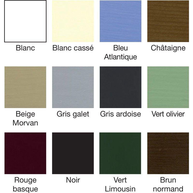 couleur de peinture exterieur