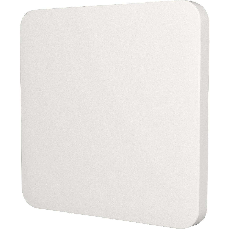 Cache Commande Déclairage Cosy Lexman Blanc Blanc N0 Mat