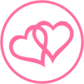 twoheartspink