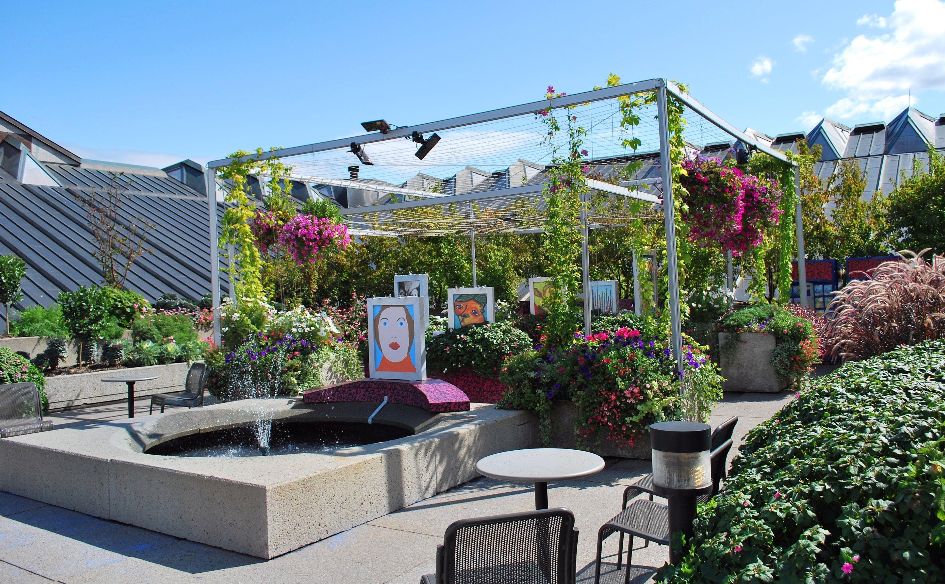 Rooftop Garden Ideas Garden Landscape Design Cost  Bathroom Design 20172018